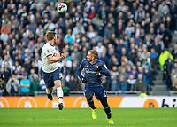 Football - 2019 / 2020 Premier League - Tottenham Hotspur vs. Watford<br /> <br /> Jan Vertonghen (Tottenham FC)  and Gerard Deulofeu (Watford FC) race for the through ball at The Tottenham Hotspur Stadium.<br /> <br /> COLORSPORT/DANIEL BEARHAM