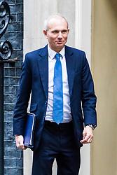 London, November 14 2017. Justice Secretary David Lidington attends the UK cabinet meeting at Downing Street. © Paul Davey