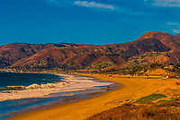 Point Dume beach, Malibu (Los Angeles), California USA.