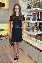 FRAN HICKMAN at the Roger Vivier 'The Perfect Pair' Frieze cocktail party celebrating Ambra Medda & 'Miss Viv' at the Roger Vivier Boutique, Sloane Street, London on 15th October 2014.