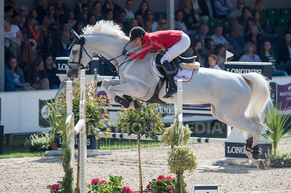 Judy-Ann Melchior (BEL) & As Cold As Ice - Furusiya FEI Nations Cup presented by Longines - CHIO Rotterdam 2016 - Kralingse Bos, Rotterdam, Netherlands - 24 June 2016