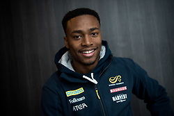 March 2, 2018 - Birmingham, GREAT BRITAIN - 180302 Austin Hamilton of Sweden poses for a portrait during day two of the IAAF World Indoor Championships on March 2, 2018 in Birmingham..Photo: Jon Olav Nesvold / BILDBYRN / kod JE / 160207 (Credit Image: © Jon Olav Nesvold/Bildbyran via ZUMA Press)