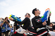 June 10-16, 2019: 24 hours of Le Mans. 7 Mike Conway, Toyota Gazoo Racing, TOYOTA TS050 - HYBRID , 7 Kamui kobayashi, Toyota Gazoo Racing, TOYOTA TS050 - HYBRID , driver's parade