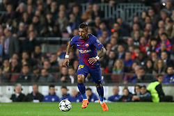 March 14, 2018 - Barcelona, Spain - PAULINHO of FC Barcelona during the UEFA Champions League, round of 16, 2nd leg football match between FC Barcelona and Chelsea FC on March 14, 2018 at Camp Nou stadium in Barcelona, Spain (Credit Image: © Manuel Blondeau via ZUMA Wire)