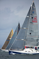 The third days racing at the  Silvers Marine Scottish Series 2015, organised by the  Clyde Cruising Club<br /> Based at Tarbert,  Loch Fyne from 22rd-24th May 2015<br /> <br /> Tilt Shift image of IRL29213, Something Else, Hall/McDonnell, National YC, J109<br /> <br /> <br /> Credit : Marc Turner / CCC<br /> For further information contact<br /> Iain Hurrel<br /> Mobile : 07766 116451<br /> Email : info@marine.blast.com<br /> <br /> For a full list of Silvers Marine Scottish Series sponsors visit http://www.clyde.org/scottish-series/sponsors/