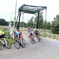 28-09-2016: Wielrennen: Olympia Tour: Assen <br />ASSEN (NED) wielrennen  <br />Leider Colin Joyce moest vol aan de bak in de kopgroep tijdens de tweede etappe