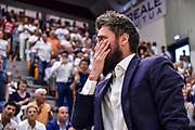 Gianmarco Pozzecco<br /> Banco di Sardegna Dinamo Sassari - Umana Reyer Venezia<br /> LBA Serie A Postemobile 2018-2019 Playoff Finale Gara 6<br /> Sassari, 20/06/2019<br /> Foto L.Canu / Ciamillo-Castoria