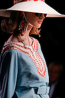 Olga Sherer walks the runway  at the Christian Dior Cruise Collection 2008 Fashion Show