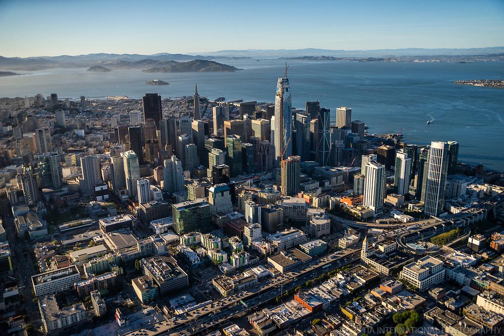 Downtown SF facing North