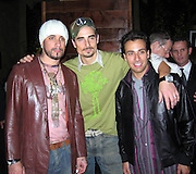 AJ McLean, Kevin Richardson & Howie Dorough (Backstreet Boys).BMG Post Grammy Party.Roosevelt Hotel.Loa Angeles, CA, USA.Sunday, February, 13, 2005.Photo By Celebrityvibe.com/Photovibe.com, New York, USA, Phone 212 410 5354, email:sales@celebrityvibe.com...