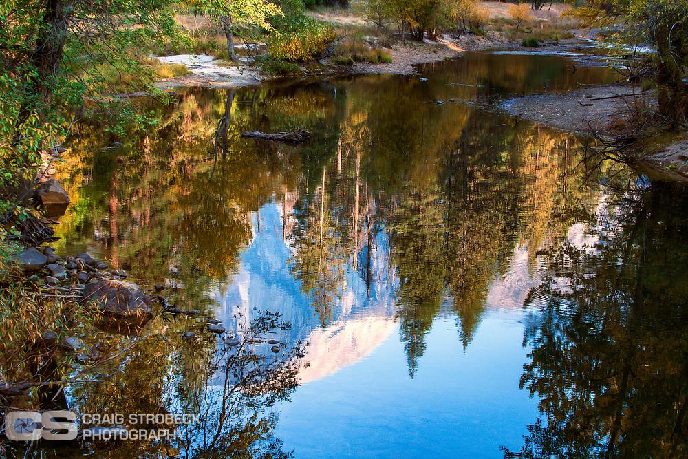 Yosemite photo trip November 2020. Half Dome reflection.