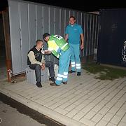 Gasoefening GAD Huizen, medische verzorging