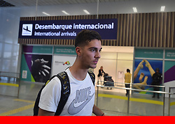 AAP/PA Images<br /><br />File Photo: Kellogg's initiate court proceedings to prevent Australian tennis player Thanasi Kokkinakis from using the nickname Special K.<br /><br />Australian tennis player Thanasi Kokkinakis speaks to the media after arriving at Rio Galeao International Airport in Rio de Janeiro, Brazil, Monday, Aug 1, 2016. Kokkinakis's Olympic preparation has suffered a hitch with the Australian star's racquet bag not arriving in Rio. (AAP Image/Lukas Coch) ... 2016 Rio Olympic Games - Preparations ... 02-08-2016 ... Rio de Janeiro ... BRAZIL ... Photo credit should read: Lukas Coch/AAP. Unique Reference No. 28218697 ...