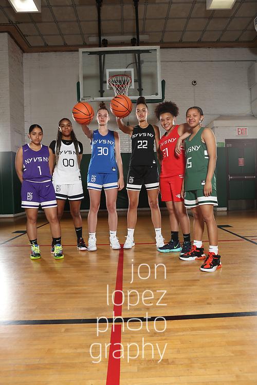 NEW YORK, NY - May 29, 2019 SLAM cover photo shoot for Nike NY vs NY NOTE TO USER: Mandatory Copyright Notice: Photo by Jon Lopez / Jon Lopez Creative
