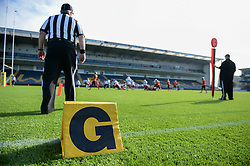 A general view of the Sixways Stadium as it hosts the IFAF European Championships - Photo mandatory by-line: Dougie Allward/JMP - 18/09/2016 - American Football - Sixways Stadium - Worcester, England - Netherlands v Russia - IFAF European Championship