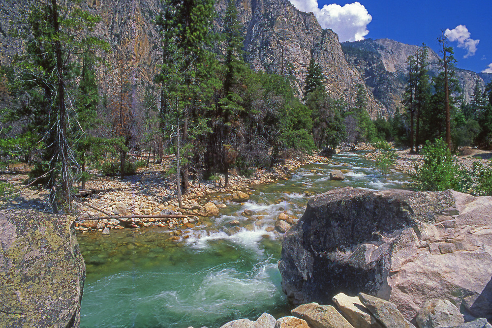 King's Canyon National Park, South Fork, King's River, California