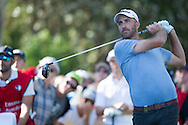 Geoff Ogilvy in action during the second round of the Australian Open at The Australian Golf Club, Sydney (Photo: Anthony Powter)