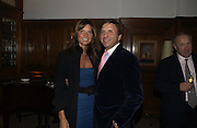 Countess Debonaire von Bismarck and Rocco Forte. Olga Polizzi and Rocco Forte host a party to celebrate the re-opening of Brown's Hotel  after a  £19 million renovation. Albermarle St. London. 12 December 2005. ONE TIME USE ONLY - DO NOT ARCHIVE  © Copyright Photograph by Dafydd Jones 66 Stockwell Park Rd. London SW9 0DA Tel 020 7733 0108 www.dafjones.com