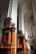 Interior View of St. Bernard's/Berardinu Church/Baznycia, Old Town/Senamiestas, Vilnius, Lithuania