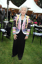 JUNE WHITFIELD at the Goring Hotel Summer party, Goring Hotel, 15 Beeston Place, London on 17th September 2008.