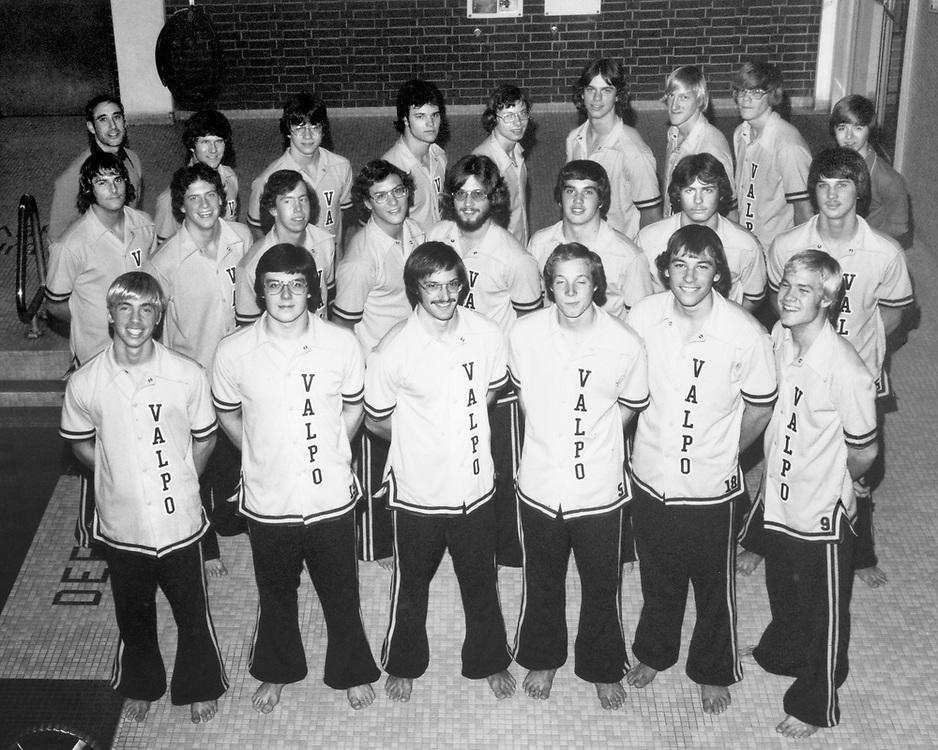 1977 Men's Swimming & Diving<br /> Indiana Collegiate Conference<br /> Regular Season Champion