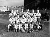 1956 - Soccer: Waterford F.C. v Drumcondra, Dublin City Cup Semi-Final.