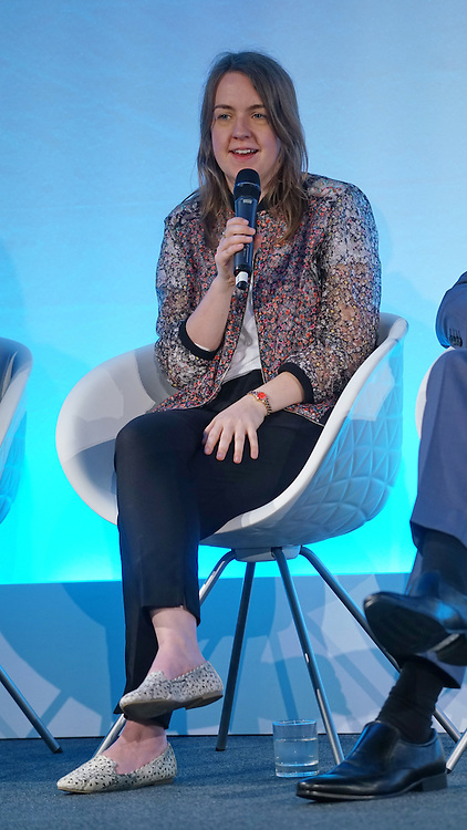 London,England,UK : 20 th June 2016 : Talks Jenny Griffiths: Founder & CEO, Snap Fashion at the London Technology Week 2016 opening press day at The Yard,Worship Street, London. Photo by See Li