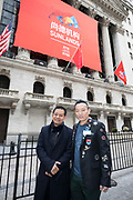 Sunlands IPO at the New York Stock Exchange on March 23, 2018. (Photos by Ben Hider)