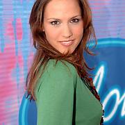 NLD/Baarn/20051229 - Persconferentie finalisten Idols 2005, Floortje Smit