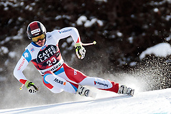 28.12.2017, Stelvio, Bormio, ITA, FIS Weltcup, Ski Alpin, Abfahrt, Herren, im Bild Gilles Roulin (SUI) // Gilles Roulin of Switzerland in action during mens Downhill of the FIS Ski Alpine Worldcup at the Stelvio course, Bormio, Italy on 2017/12/28. EXPA Pictures © 2012, PhotoCredit: EXPA/ Johann Groder