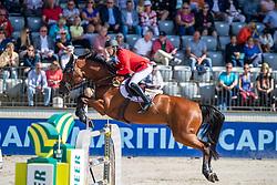 Devos Pieter, BEL, Claire Z<br /> European Championship Jumping<br /> Rotterdam 2019<br /> © Hippo Foto - Dirk Caremans