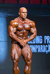 April 22, 2017 - Sao Paulo, Sao Paulo, Brazil - Bodybuilders participate in the Bodybuilding Pro Show contest, during the Arnold Classic South America event in Sao Paulo, Brazil, this Saturday (22) (Credit Image: © Paulo Lopes/ZUMA Wire)