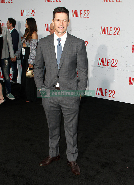 Mille 22 Premiere at The Regency Village Theatre in Westwood, California on 8/9/18. 09 Aug 2018 Pictured: Mark Wahlberg. Photo credit: River / MEGA TheMegaAgency.com +1 888 505 6342