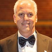 NLD/Amsterdam/20160210 - gasten arriveren bij Correspondents' Dinner 2016, Ron Freser