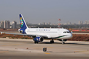 Israel, Ben-Gurion international Airport Olympic Air Airbus A320-232