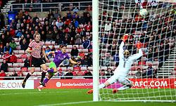Callum O'Dowda of Bristol City has a shot saved by Jason Steele of Sunderland - Mandatory by-line: Robbie Stephenson/JMP - 28/10/2017 - FOOTBALL - Stadium of Light - Sunderland, England - Sunderland v Bristol City - Sky Bet Championship