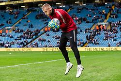 Daniel Bentley of Bristol City warms up - Mandatory by-line: Daniel Chesterton/JMP - 15/02/2020 - FOOTBALL - Elland Road - Leeds, England - Leeds United v Bristol City - Sky Bet Championship