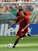 Photo: Glyn Thomas.<br />Portugal v Iran. Group D, FIFA World Cup 2006. 17/06/2006.<br /> Portugal's Cristiano Ronaldo.