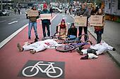 2019/11/24 Protest Fahrradweiche