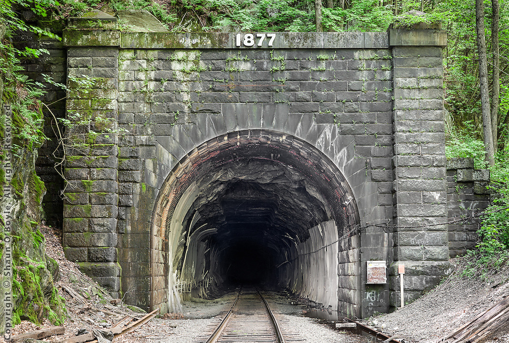 East Portal, Hoosac Tunnel. The Rail Lines project follows a number of different rail lines and industrial corridors in areas around the North East US. The emphasis is as much on the regional architecture, infrastructure and landscape as it is on the rail lines themselves.