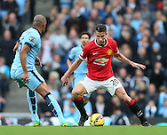 Manchester United's Robin Van Persie in action<br /> <br /> - Barclays Premier League - Manchester City vs Manchester Utd - Etihad Stadium - Manchester - England - 2nd November 2014  - Picture David Klein/Sportimage