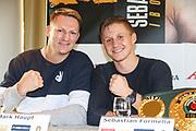 BOXEN: EC Boxpromotion & SES Boxing, Pressekonferenz, Hamburg, 17.12.2019<br /> <br /> © Torsten Helmke