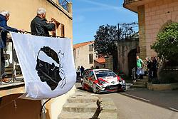 April 7, 2018 - Corse, France - CORSICA Linea - TOUR DE CORSE 2018 Ott TANAK, Martin JARVEOJA TOYOTA YARIS WRC (Credit Image: © Panoramic via ZUMA Press)