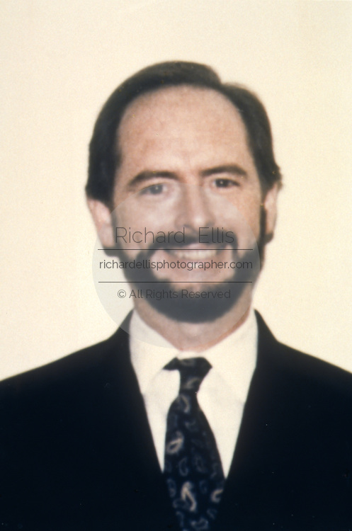 Photo of Harold James Nicholson a CIA employee arrested for spying for Russia. Nicholson was said to be the highest ranking CIA official ever convicted of spying for a foreign power.