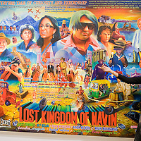 LONDON, ENGLAND - JUNE 04: Farah Ismail, South Asian art expert from Christie's looks at 'Lost Kingdom of Navin' a Bollywood style painting by Navin Rawnchaikul.on June 4, 2009 in London, England....***Standard Licence  Fee's Apply To All Image Use***.Marco Secchi /Xianpix. tel +44 (0) 845 050 6211. e-mail ms@msecchi.com or sales@xianpix.com.www.marcosecchi.com