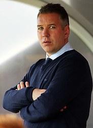 Peterborough United Manager, Darren Ferguson - Photo mandatory by-line: Joe Dent/JMP - Mobile: 07966 386802 - 11/10/2014 - SPORT - Football - Crawley - Checkatrade.com Stadium - Crawley Town v Peterborough United - Sky Bet League One