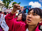 South Korean Progressives Rally in Support of Summit