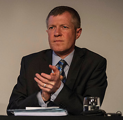 Pictured: Willie Rennie<br /> <br /> Party leaders Nicola Sturgeon, Kezia Dugdale, Ruth Davidson, Willie Rennie and Patrick Harvie faced questions from the public at an LGBTI election hustings event arranged by Stonewall Scotland, LGBT youth Scotland, Equaity Network and The Scottish Equality Network at the Royal College of Surgeons of Edinburgh. Edinburgh. 31 March 2016<br /> <br /> Ger Harley   Edinburghelitemedia.co.uk