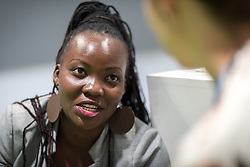 13 December 2019, Madrid, Spain: Patriciah Roy Akullo, ACT Forum coordinator, Dan Church Aid Uganda, attends COP25.