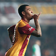 Galatasaray's Colin Kazim RICHARDS celebrate his goal during their Turkey Cup Group A matchday 3 soccer match Galatasaray between Beypazari Sekersporat the AliSamiYen stadium in Istanbul Turkey on Tuesday 11 January 2011. Sports fans, knee collapsed and the world of European giants 'hell' as a name from the Ali Sami Yen stadium to play matches with Turkey Sekerspor Beypazari Cup farewell. Sports, 47-year sanctuary 'goodbye,' he says. Photo by TURKPIX